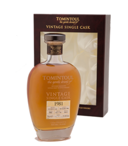 Tomintoul 1981 Whisky Cyprus