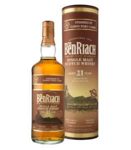 Benriach 21 Years Old Tawny Port Cask Cyprus