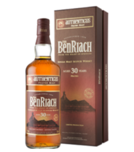Benriach 30 Years Old Authenticus Cyprus