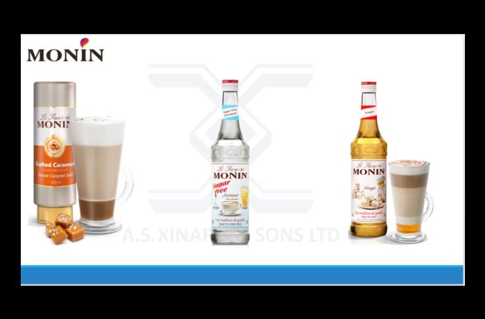 New MONIN Flavors