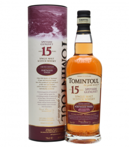 Tomintoul 15 Years Old Portwood Whisky Cyprus