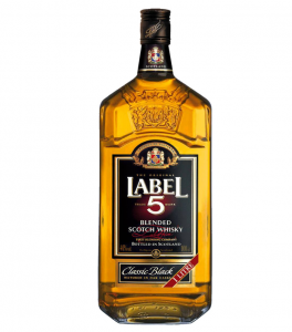 Label 5 Classic Black Whisky Cyprus