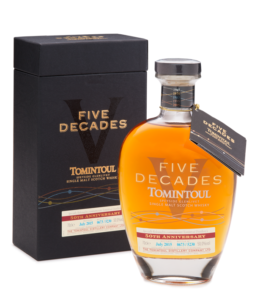 Tomintoul Five Decades Whisky Cyprus