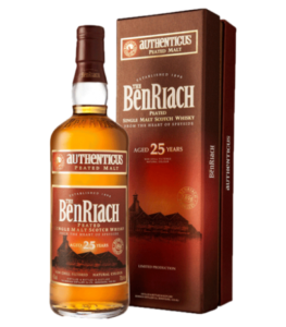 Benriach 25 Years Old Authenticus Cyprus