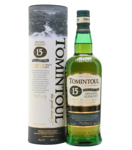 Tomintoul 15 Years Old Peaty Tang Whisky Cyprus