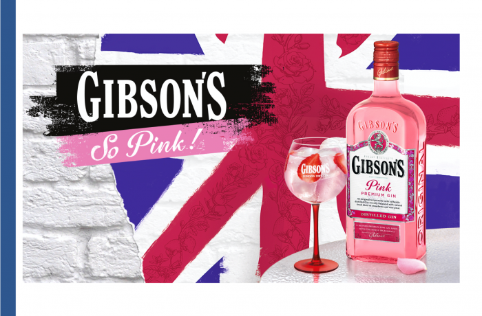 Gibson's Pink Gin